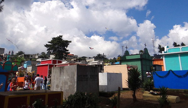 Tombs. Giant Kites, Bright Colors, and a Graveyard: Guatemala's Day of the Dead