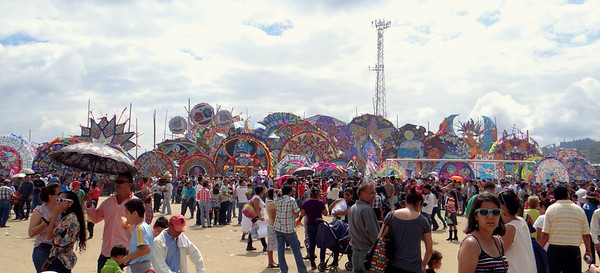 Giant Kites, Bright Colors, and a Graveyard: Guatemala's Day of the Dead