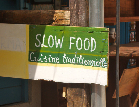 Lost in translation - slow food