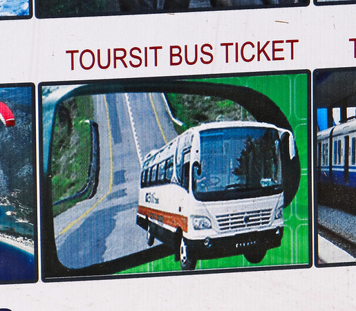 Nepal - toursit bus